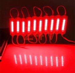 Світлодіодний модуль AVT COB 1 led 2W 6500K 24В, IP65 червоний. Фото 2