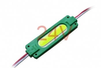 Світлодіодний модуль AVT COB 1 led 2W 6500K 24В, IP65 зелений