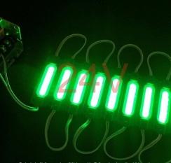 Светодиодный модуль AVT COB 1 led 2W 6500K 24В, IP65 зеленый. Фото 2