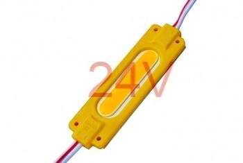 Світлодіодний модуль AVT COB 1 led 2W 6500K 24В, IP65 жовтий