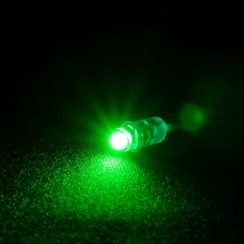 Світлодіод швидкого монтажу Biom 9мм зелений. Фото 5
