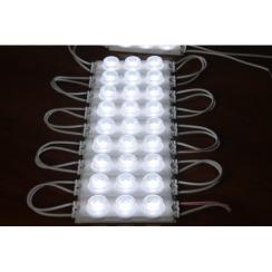 Светодиодный модуль Biom SMD 3030 3 led 3W 12В, IP65 холодный белый. Фото 5