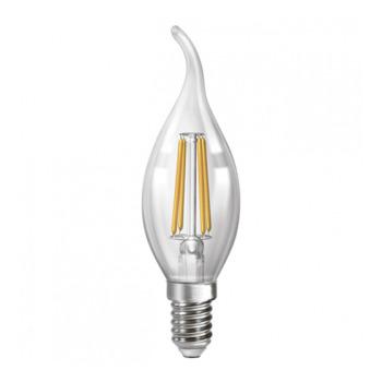 Лампа філаментна свіча на вітру Neomax NX4СWF С37 4W E14 3000K