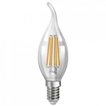 Лампа филаментная свеча Neomax NX6СWF С37 6W E14 4200K