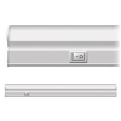 Лінійний LED світильник Neomax T5 5Вт 30см з кнопкою