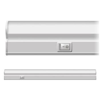 Лінійний LED світильник Neomax T5 8Вт 60см з кнопкою