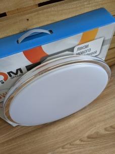 Світильник світлодіодний Biom SMART SML-R18-50 3000-6000K 50Вт з д/к. Фото 2