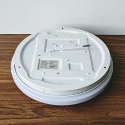 Led світильник накладний Biom 18W 4500К DEL-R101-18 круглий. Фото 7