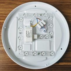 Led светильник накладной Biom 24W 4500К DEL-R102-24 круглый. Фото 5
