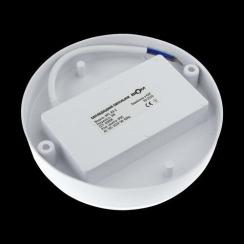 Світильник світлодіодний ЖКХ Biom MPL-R9-6 9W 6000K IP65 круглий. Фото 3