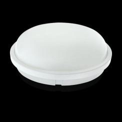 Світильник світлодіодний ЖКХ Biom SMPL-R20-6 20Вт 6000К з датчиком руху. Фото 2