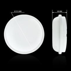 Світильник світлодіодний ЖКХ Biom SMPL-R20-6 20Вт 6000К з датчиком руху. Фото 4