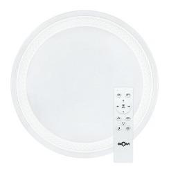 Светильник светодиодный Biom SMART SML-R19-80-RGB 3000-6000K 80Вт+16Вт RGB с д/у +APP. Фото 2