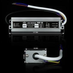 Блок питания BIOM Professional DC12 60W WBP-60 5А герметичный. Фото 3