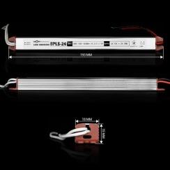 Блок живлення BIOM Professional DC12 24W BPLS-24-12 2А stick. Фото 2