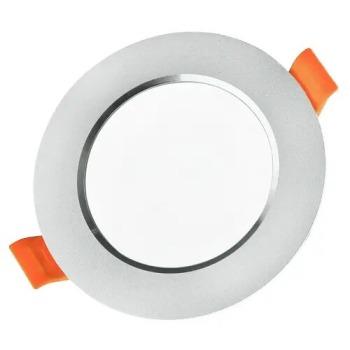 Светильник светодиодный Biom DF-6G 6Вт серый круглый 5000К