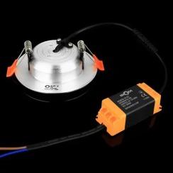 Светильник светодиодный Biom DF-6G 6Вт серый круглый 5000К. Фото 3