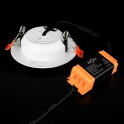 Світильник світлодіодний Biom DF-9W 9Вт білий круглий 5000К. Фото 3