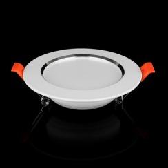 Світильник світлодіодний Biom DF-9W 9Вт білий круглий 5000К. Фото 2